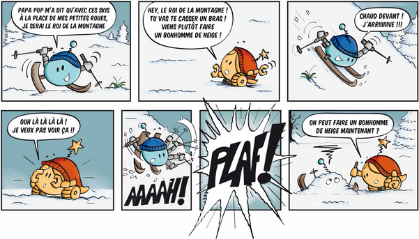 Tipop aux sports d'hiver