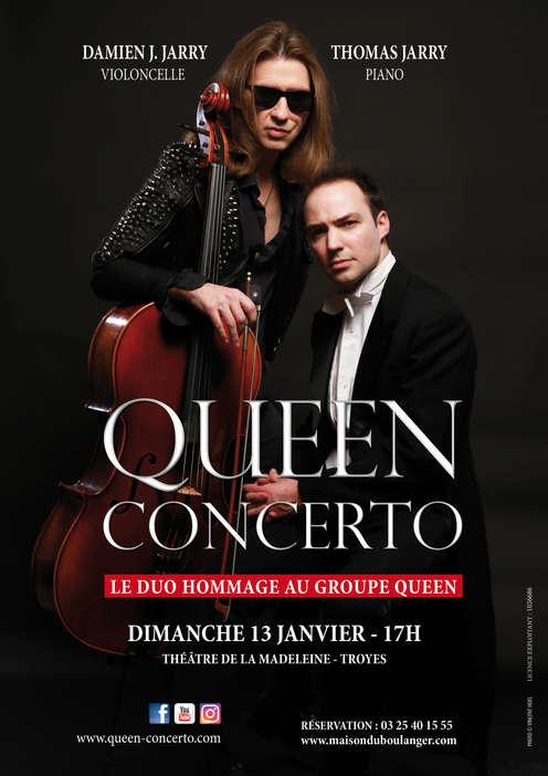 Queen Concerto + Anne-Lise Durantel (violon)