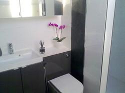 To this Incredible Modern Bathroom!