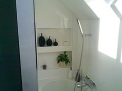 Now an Incredible Modern Bathroom!