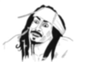 Nicolas Cage/ Jack Sparrow