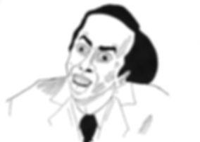 Nicolas Cage sosie de merde d'Éric Zemmour