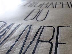 Sérigraphie du Pauvre - Couverture sérigraphié
