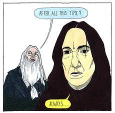 Ciné Dimanche n°21 - Harry Potter et les Reliques de la Mort partie 2