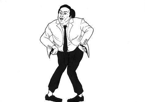 Nicolas Cage fait la danse des canards