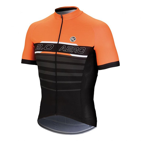 PLAYERA BICYCLE AERO 2.0 ORANGE