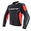Thumbnail: CHAMARRA DAINESE RACING 3 LEATHER RED FLUO