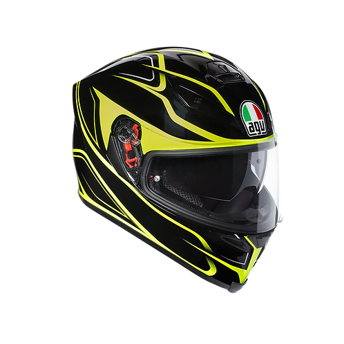 CASCO AGV K-5 PLK MAGNITUDE YELLOW