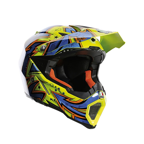 CASCO AGV AX-8 EVO SPRAY YELLOW