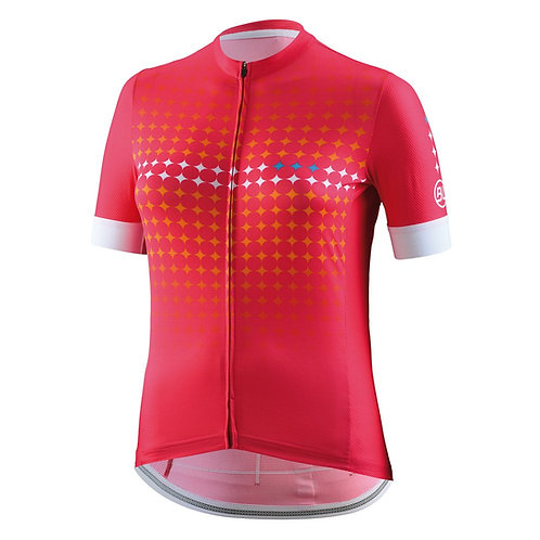 PLAYERA BICYCLE THEA WOMAN FUCSIA