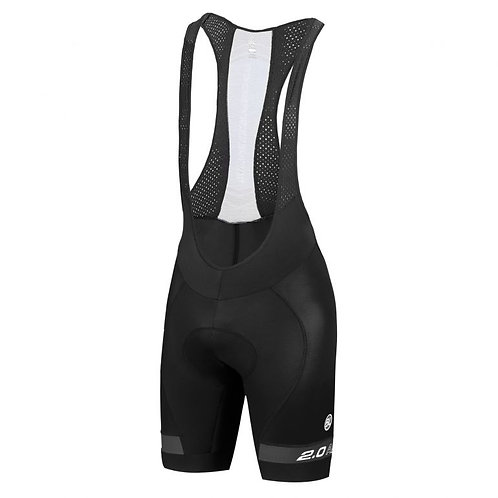 BIB SHORT BYCICLE AERO 2.0 BLACK