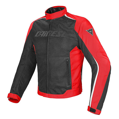 CHAMARRA DAINESE HYDRA FLUX D-DRY RED WHITE