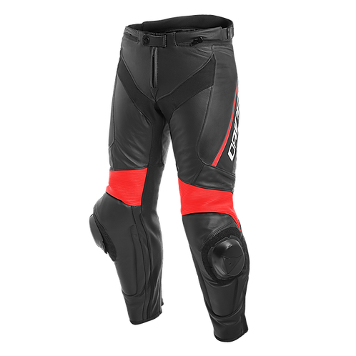 PANTALON DAINESE DELTA 3 LEATHER RED