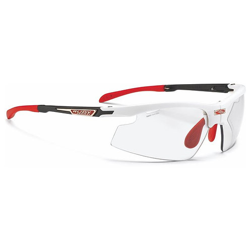 LENTE RUDY PROJECT SYNFORM WHITE MICA 2 LASER BLACK PHOTO
