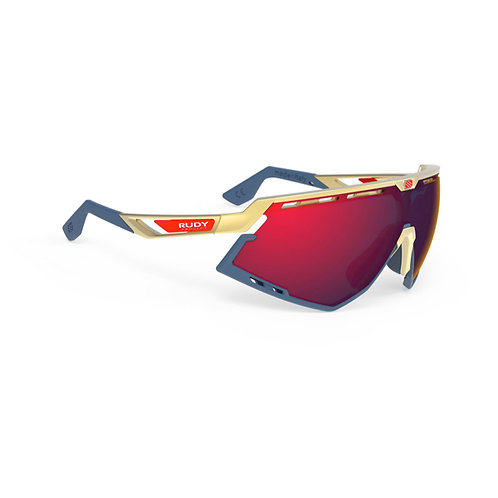 LENTE RUDY DEFENDER GOLD MULTI LASER RED