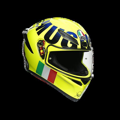 CASCO AGV K-1 ROSSI MUGELLO 2016