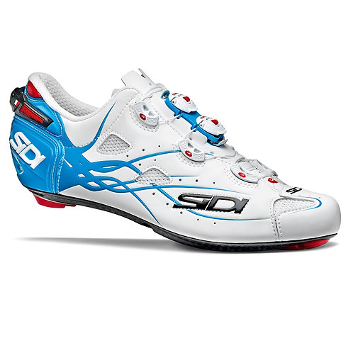 SIDI SHOT MATT WHITE LIGHT BLUE