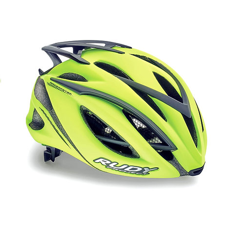 CASCO RUDY RACEMASTER YELLOW MATT