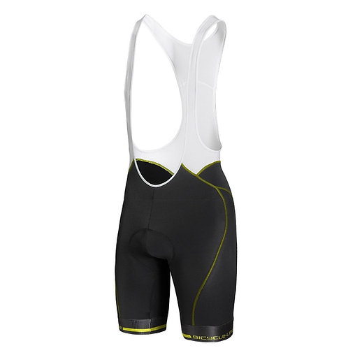 BIB SHORT BICYCLE ANIMA-S YELLOW