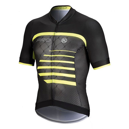 PLAYERA BICYCLE PRO BLACK YELLOW