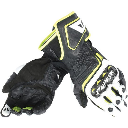 GUANTES DAINESE CARBON D1 LONG YELLOW