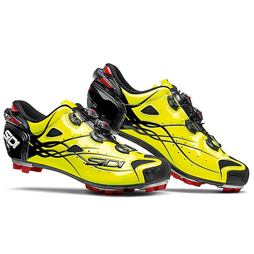 SIDI MTB TIGER CARBON SRS BRIGHT YELLOW