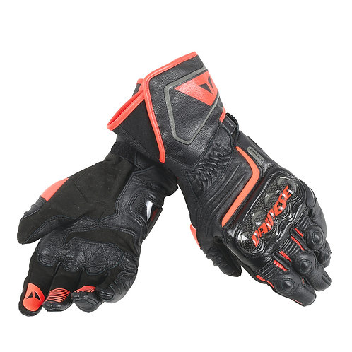 GUANTES DAINESE CABRON D1 LONG RED