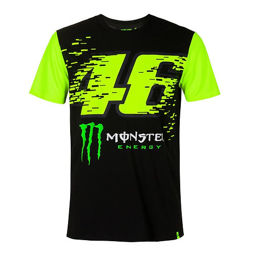 PLAYERA VR46 MONSTER ENERGY