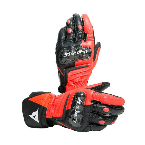 GUANTES DAINESE CARBON 3 LONG RED