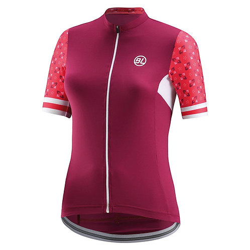 PLAYERA BICYCLE NINFEA FUCSIA