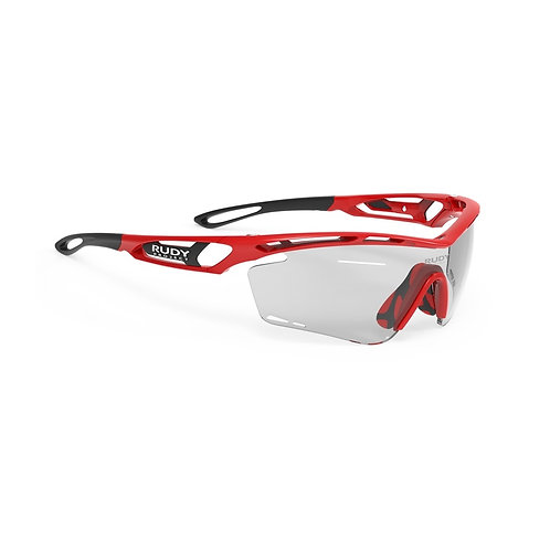 LENTE RUDY TRALYX FIRE RED MICA IMPACT 2 BLACK PHOTOCHROMATIC