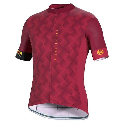 PLAYERA BICYCLE CONEGLIANO RED