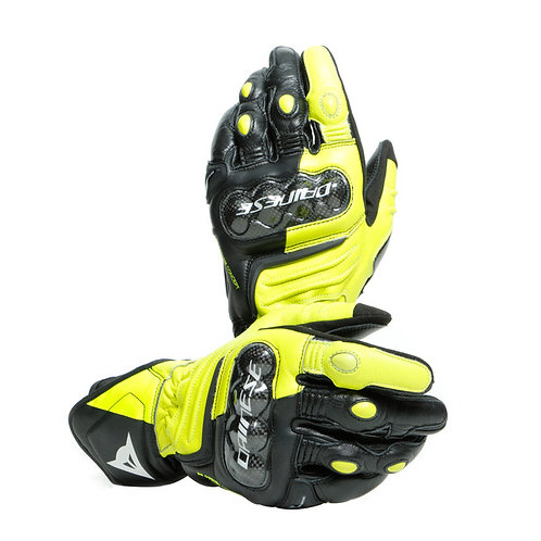 GUANTES DAINESE CARBON 3 LONG YELLOW