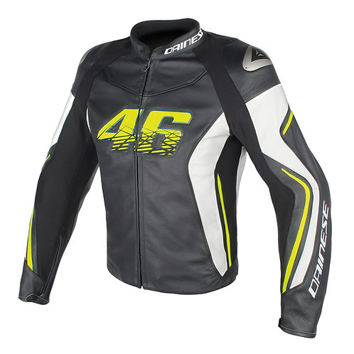 CHAMARRA DAINESE VR46 D2 LEATHER