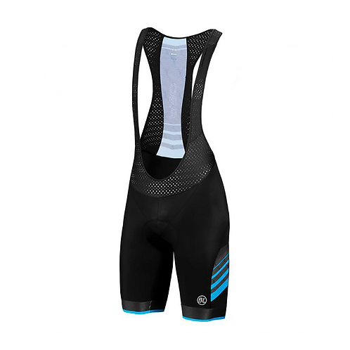 BIB SHORT BICYCLE PRO BLUE