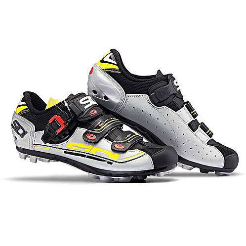 SIDI MTB EAGLE 7 BLACK SILVER YELLOW