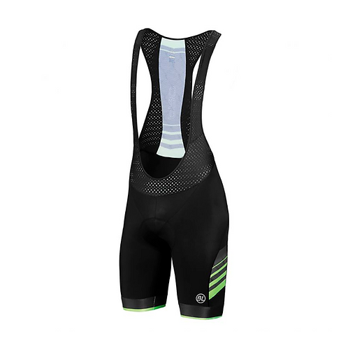 BIB SHORT BICYCLE PRO GREEN