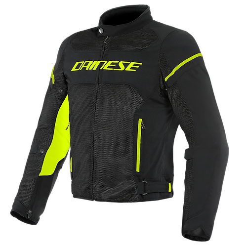 CHAMARRA DAINESE AIR FRAME TEX D1 BLACK YELLOW
