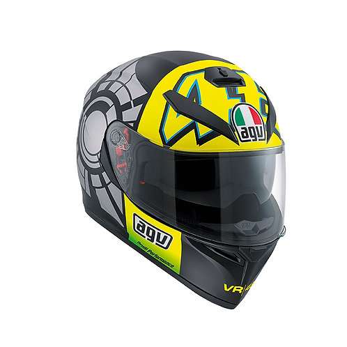 CASCO AGV K3 SV PLK WINTER TEST 2012