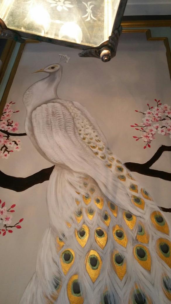 Witte pauw