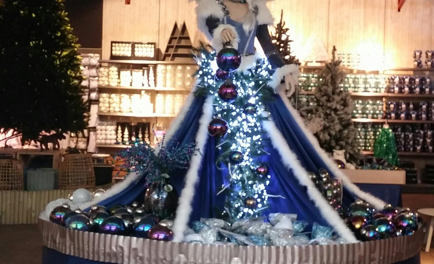 Kerstdecoratie Winterkoningin
