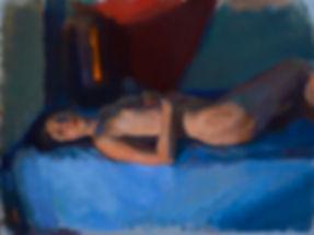 shanksa_reclining (libby)_oil on canvas_