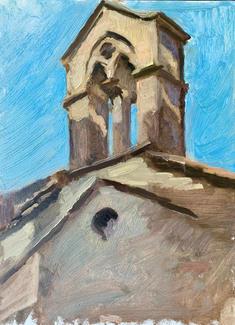 Chapel at the hilltop of Perugia
