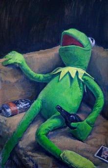 Bad Day Kermit