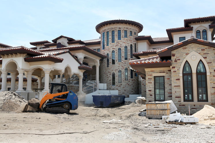 Getting closer to finishing construction of this mansion