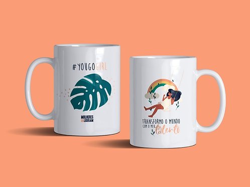 Caneca | Transformo o Mundo com o meu talento. You go girl.