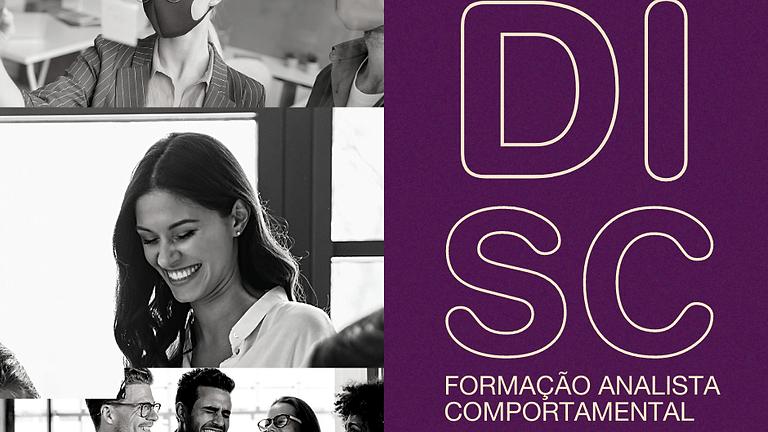 FORMAÇÃO ANALISTA COMPORTAMENTAL DISC | INSCRIÇÕES ABERTAS
