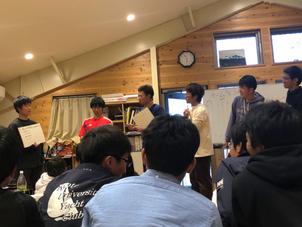 3/28〜3/29 部内新人戦