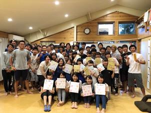 7/8 1回生両クラス試乗会、マネージャー感謝デー