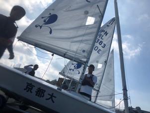 9/7〜8 江ノ島スナイプ級選手権